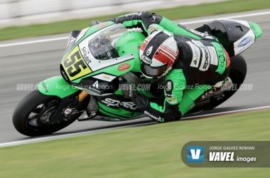 Montella, vigente Campeón de Europa de Moto2 en el Circuito Ricardo Tormo. Foto: Jorge Gálvez | Vavel España.