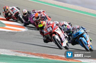 Holgado comandando la carrera. Foto: Jorge Gálvez | Vavel España.