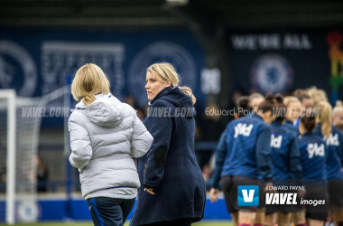 Chelsea's boss Emma Hayes thrilled with team comeback and Sam Kerr's WSL debut.