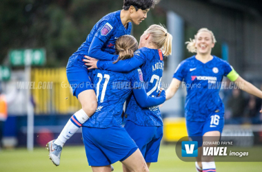 Everton 0-3 Chelsea: The Blues claim a confident WSL win at Walton Hall Park