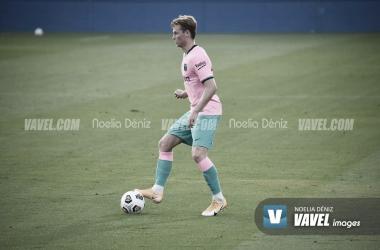 De Jong en un partido en el Johan Cruyff. | Foto: Noelia Déniz