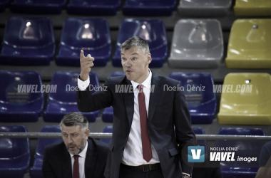"""Jasikevicius: """" Hay que jugar cada partido como si fuera una final, y lo de hoy es imperdonable"""""""