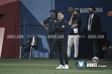 """García Pimienta: """"Si tuviéramos gol, los resultados serían otros"""""""