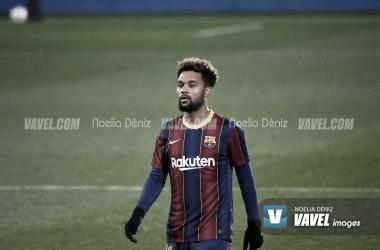 Konrad, jugador del filial. | Foto: Noelia Déniz (VAVEL)