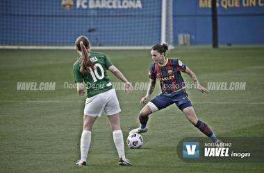 Mapi León en un encuentro de Champions. | Foto: Noelia Déniz