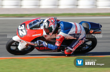 Takuma Matsuyama en la carrera de Valencia / Fuente: Rocío Hellín