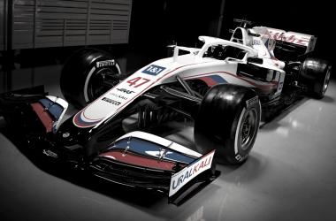 Diseño del VF-21 de Haas. Fuente: Haas