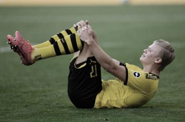 Dortmund viaja a Paderborn sem o machucado Haaland