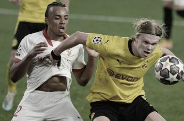 Haaland y Koundé, dos de las piezas claves para sus equipos // Fuente: goal.com