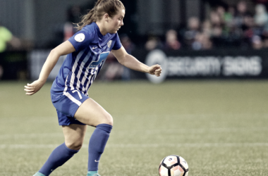 Emilie Haavi played seven matches for the Boston Breakers in 2017 | Photo: Craig Mitchelldyer- ISI Photos