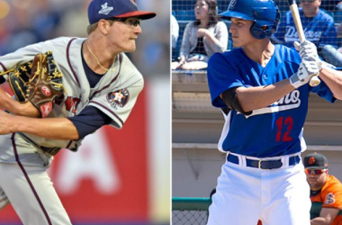 Cal League standouts Josh Hader and Corey Seager/ Photo Courtesy of MiLB.com