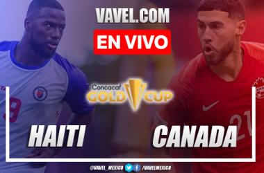 Goles y resumen del Haití 1-4 Canadáen Copa Oro 2021