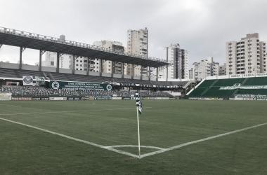Hailé Pinheiro, estádio-sede de Goiás x Náutico (Goiás EC / Divulgação)