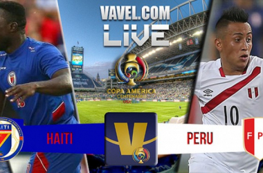 Score Haiti - Peru in 2016 Copa America Centenario (0-1)