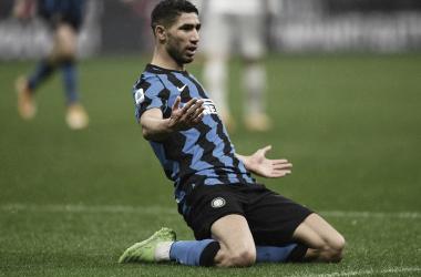 Inter vence Bologna com dois gols de Hakimi e sobe para segundo na Serie A
