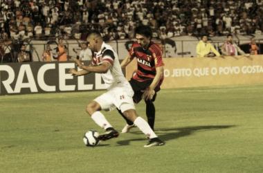 Atletas atuaram nos dois confrontos com o Sport pela semifinal da Copa do Nordeste (Foto: Rodrigo Baltar/Santa Cruz)