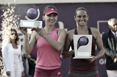 Halep and Vinci's last meeting was in the final of Bucharest in 2014 (Source: HotNews.ro - Sport)