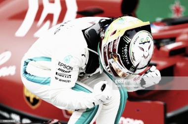 Hamilton en el GP de Brasil | Fuente: Getty Images
