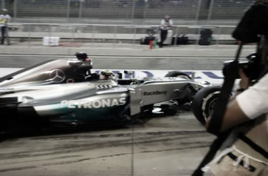 Diferença entre Hamilton e Alonso foi de pouco mais de um segundo (Foto: Mercedes AMG F1/Twitter )