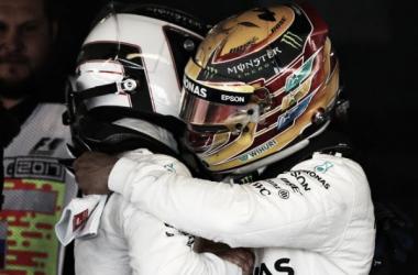 Formula 1 - Hamilton soddisfatto, Bottas preoccupato dal traffico