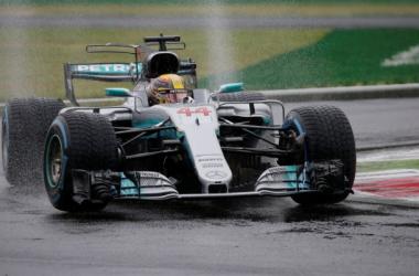 """Qualifiche Gp di Monza, Hamilton: """"Una pole bellissima, sono molto contento"""""""