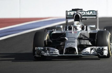 Grand Prix de Russie, Hamilton la force tranquille