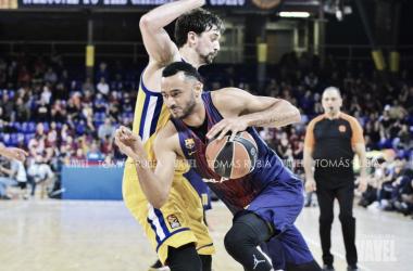 El FC Barcelona Lassa despide la Euroliga con un triunfo | Fotografía: Tomás Rubia (VAVEL.com)