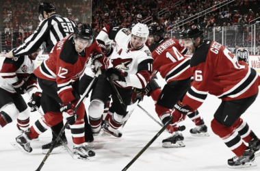 The way this road trip is going, the Coyotes must feel surrounded by the opposition. Source: arizonacoyotes.com