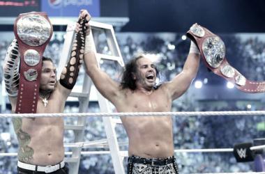 El récord descuidado de Los HardysFuente: WWE.com