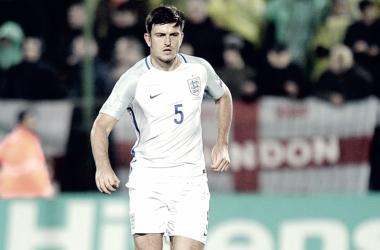 Harry Maguire quiere ser titular en Rusia   Foto: FA