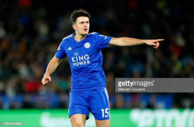 Harry Maguire in action for Leicester City | Photo: Malcolm Couzens | Getty Images