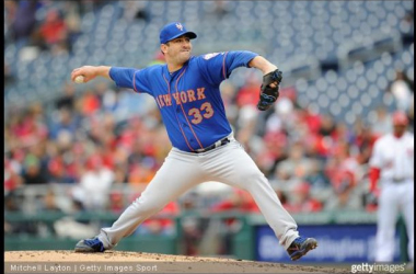 Matt Harvey struck out nine Nationals in his return from Tommy John surgery.