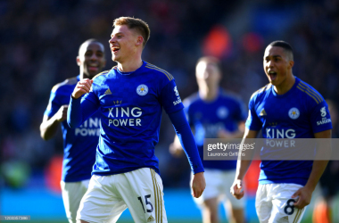 Harvey Barnes: 'It was an action-packed game'