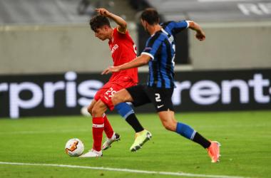 Barella e Lukaku fanno volare l'Inter, Leverkusen eliminato (2-1)