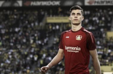 Havertz está llamado a ser un referente del Leverkusen en los próximos años. Foto: bundesliga.com