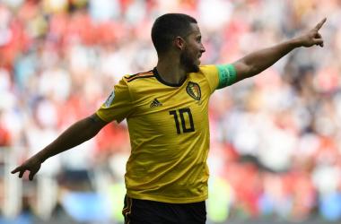 Belgio, Hazard conduce lo spettacolo