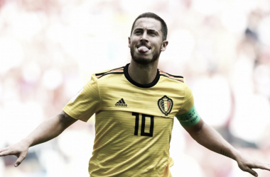 Hazard marcó un doblete | Foto: FIFA