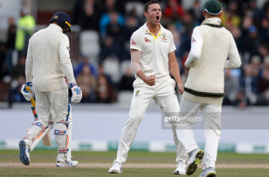 England vs Australia: Fourth Test, Day Three: Hazlewood strikes after Rory and Root resistance