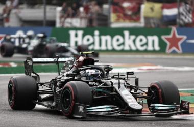 El Mercedes #77 de Bottas | Foto: Fórmula 1