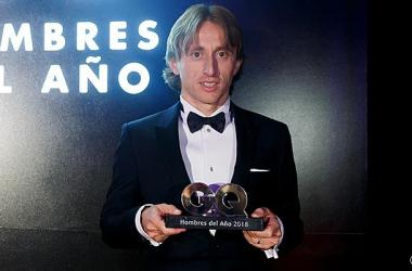 Luka Modric, mejor deportista para la revista GQ/ realmadrid.com