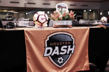 The Houston Dash had a very busy draft day. | Source: @HoustonDash via Twitter