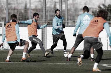 Último entrenamiento | Foto: Real Madrid CF