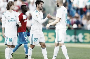 Real Madrid-Getafe, el sábado 3 de marzo a las 20:45