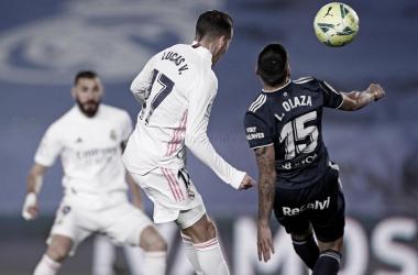 """Lucas Vázquez: """"Si seguimos en esta línea estaremos hasta el final peleando por todo"""""""