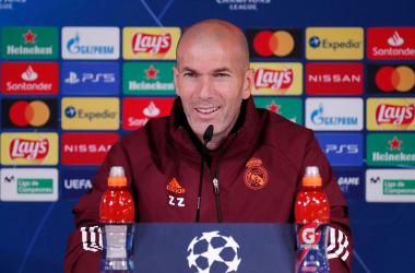 """Zidane: """"Es absurdo pensar que el Madrid no estará en Champions el año que viene"""""""