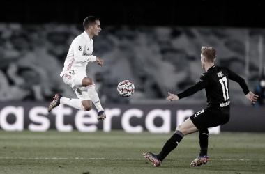 Lucas Vázquez se reivindica