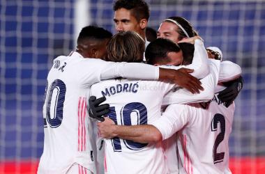 El Madrid llega a Navidad en su mejor momento