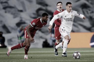 El gallego frente al Liverpool | Foto: Real Madrid CF