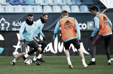 Benzema, Ramos, Varane y Kroos. Fuente: Real Madrid