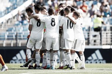 Fotogalería del Real Madrid Castilla 3-0 Unionistas de Salamanca